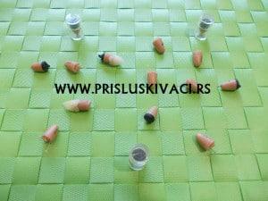 bubice mikroslusalice standard