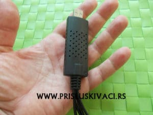 mikrokamera za ugradnju u ruci