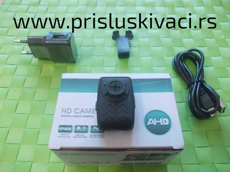 spijunska kamera za tajno snimanje pakovanje