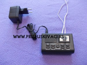 prisluskivac za fiksni telefon na struju komplet