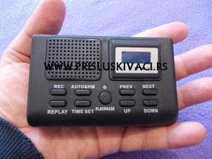 prisluskivac za fiksni telefon na struju slika iz ruke