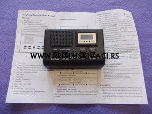 prisluskivac za fiksni telefon na struju uputstvo