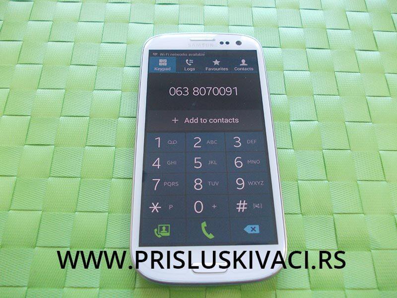 Prisluškivanje mobilnog telefona