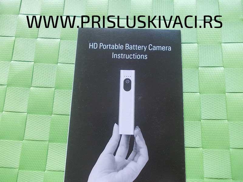 špijunska power bank kamera pakovanje