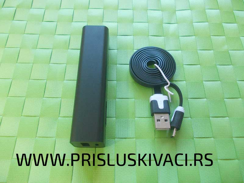 špijunske power bank kamere