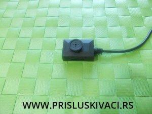 Špijunska kamera dugme snimač