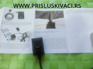Špijunska kamera dugme snimač uputstvo