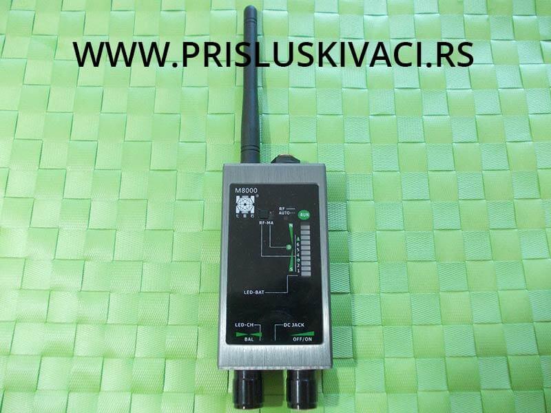 Detektor prislušnih uređaja i gps lokatora