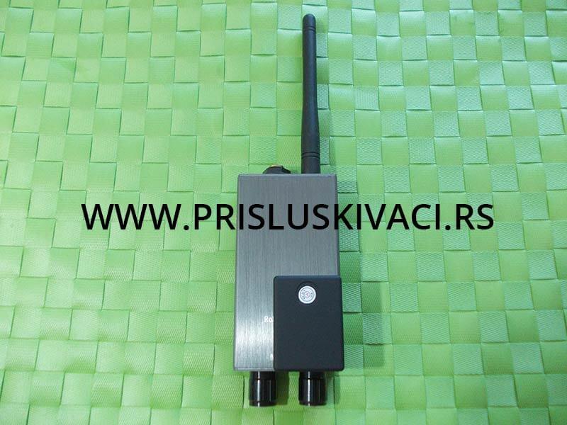 GPS trekeri i razni lokatori na meti antene