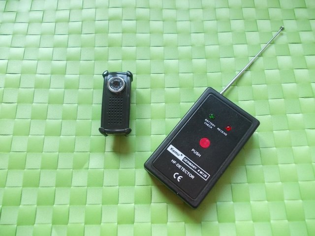 Rad detektora M8000 u Rf modu