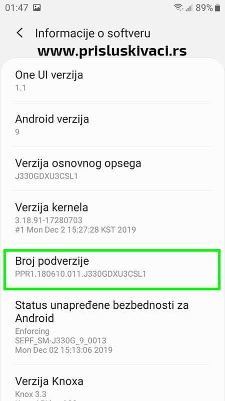 Ucitavanje spy programa android 10-3