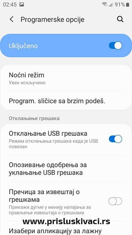 Ucitavanje spy programa android 10-6